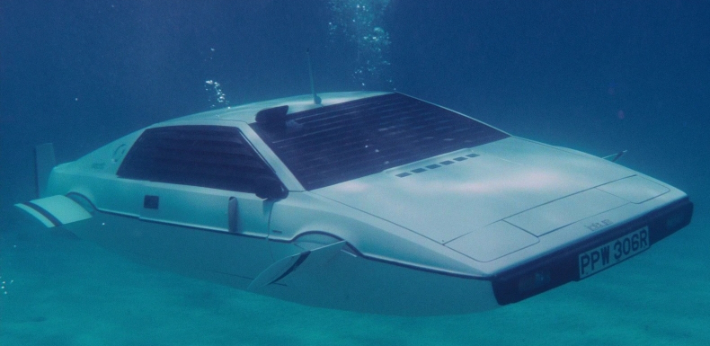 The iconic Lotus Esprit in The Spy Who Loved Me. Source - HeadStuff.org