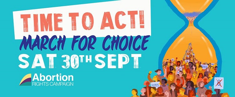 March For Choice, Sep 30th, 2pm from the Garden of Remembrance