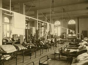 World War I military hospital - headstuff.org
