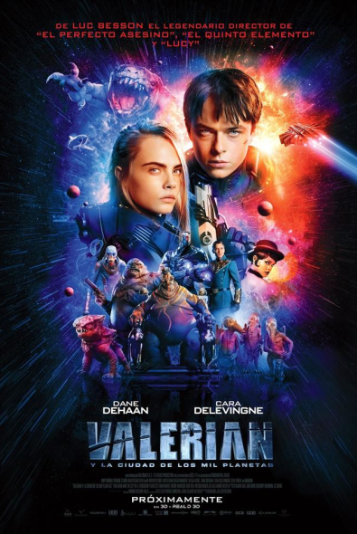Valerian and the City of a Thousand Planets is in cinemas from August 4th. - HeadStuff.org