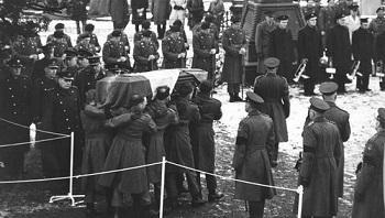 Roger Casement's funeral - headstuff.org