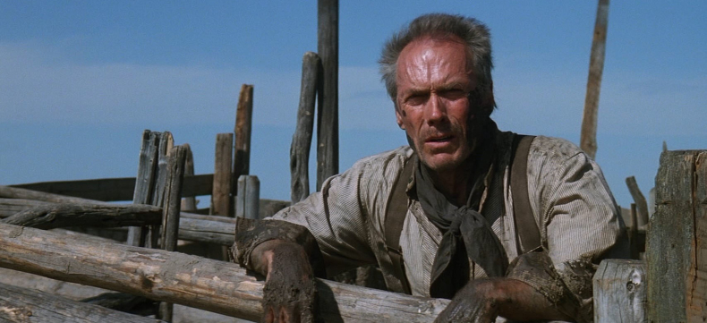 Eastwood as Will Munny in Unforgiven. - HeadStuff.org