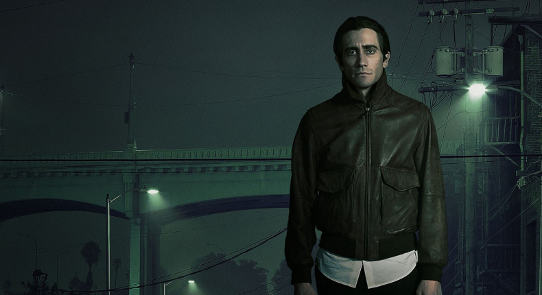 Lou Bloom in Nightcrawler. - HeadStuff.org