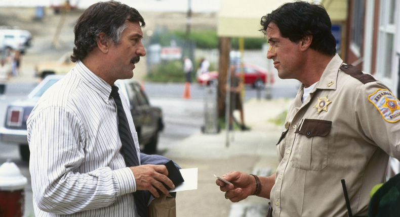 De Niro and Stallone in Cop Land - released 20 years ago today. - HeadStuff.org
