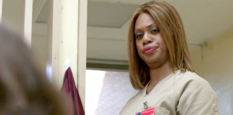 Sofia, played by Laverne Cox, in Orange is the New Black. - HeadStuff.org