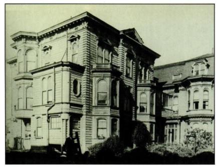 Mary Ellen Pleasant's mansion - headstuff.org
