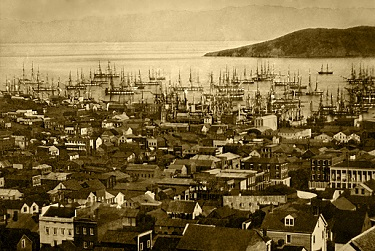 San Francisco in 1851 - headstuff.org