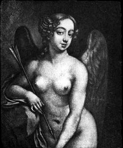Nell Gwyn as Cupid - headstuff.org