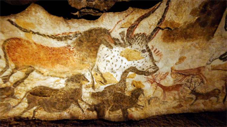 Lascaux cave paintings, street Art - HeadStuff.org