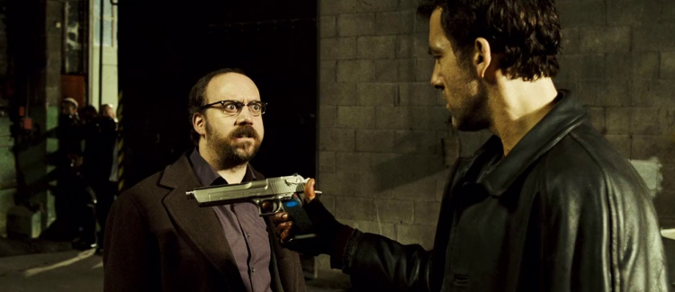 Paul Giamatti and Clive Owen in Shoot Em Up, 10 years after its release. - HeadStuff.org