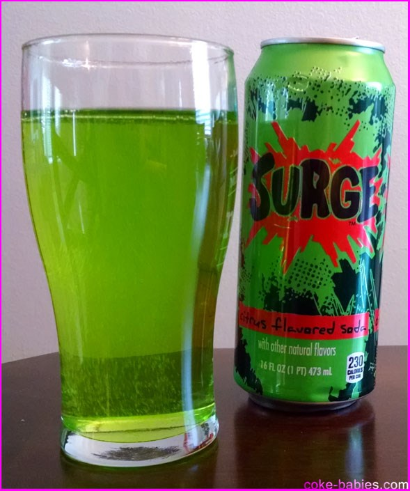 I Fed the Rush: a short memoir on my relationship with the '90s soda-icon known as Surge