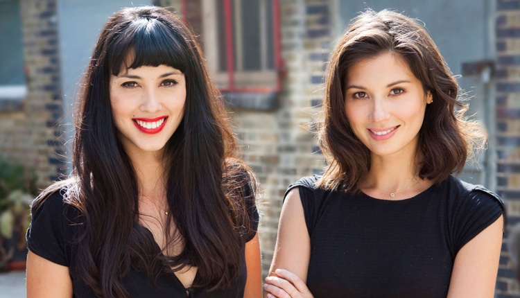 Image of the two Hemsley sisters, clean eating advocates.