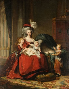 Marie Antoinette with her children- headstuff.org