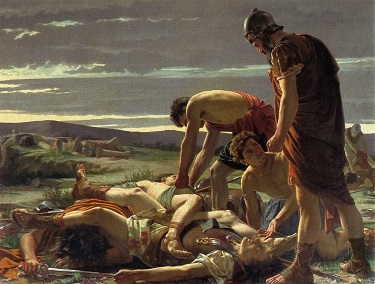 The Discovery of the Body of Catiline, by Alcide Segoni - headstuff.org