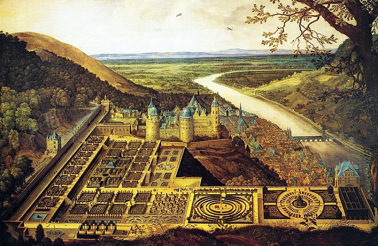 Heidelberg Castle and its famous gardens - headstuff.org