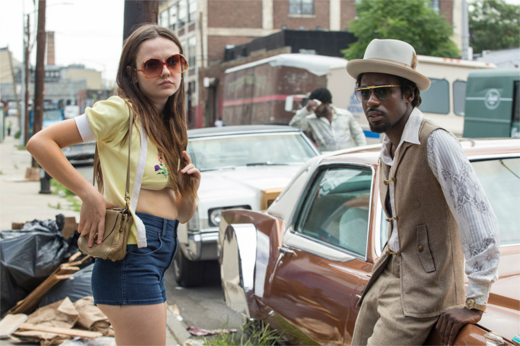 Emily Meade and Gary Carr in The Deuce - HeadStuff.org