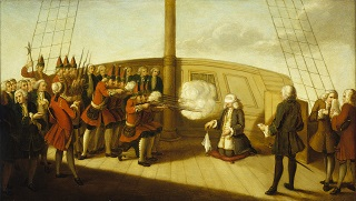 The execution of Admiral Byng - headstuff.org