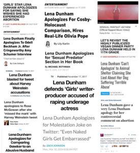 Lena Dunham - HeadStuff.org