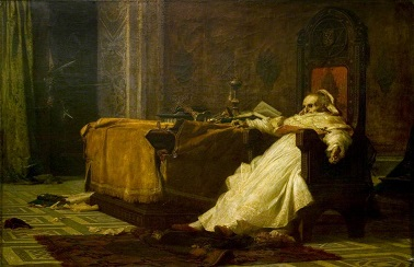 The Death of Boniface VIII, by Nicolo Barabino - headstuff.org