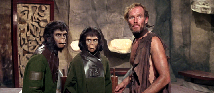 Planet of the Apes - released 50 years ago today. - HeadStuff.org