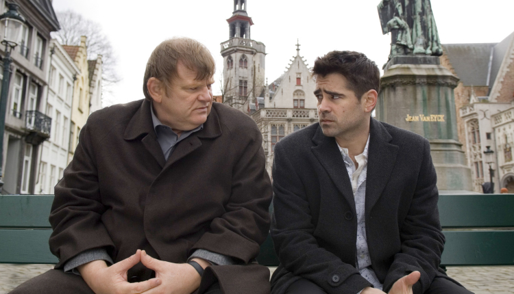 Brendan Gleeson and Colin Farrell in In Bruges, released 10 years ago today. - HeadStuff.org