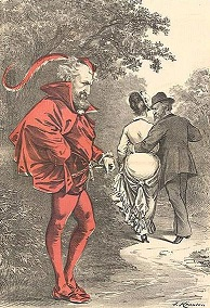 19th century political cartoon - headstuff.org