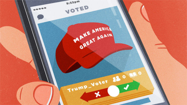 Politics is not Politics Anymore - Trump Tinder - HeadStuff.org