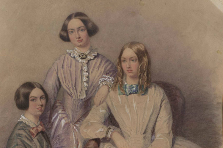 Female author - the Brontes