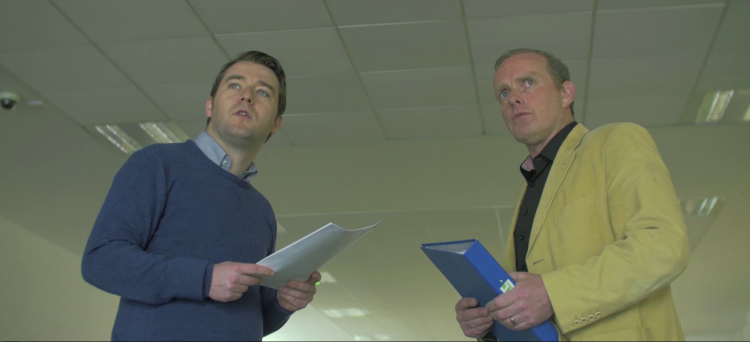John Morton and Ciaran McCauley in Locus of Control - HeadStuff.org