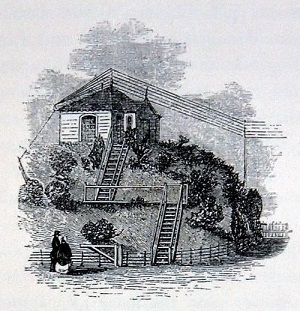 The telegraph station at Slough - headstuff.org