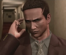 Ffrancis York Morgan from Deadly Premonition - headstuff.org