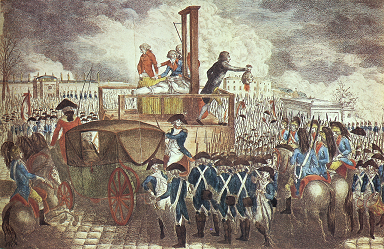 Execution of Louis XVI - headstuff.org