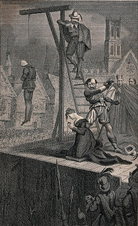 The execution of Madame Tiquet by Charles Sanson - headstuff.org