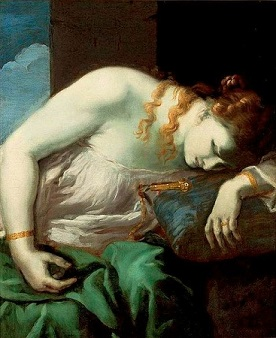 The Death of Lucretia, by Antonio Carneo - headstuff.org