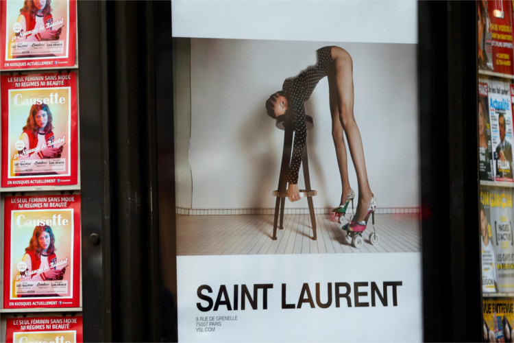 Saint Laurent Sexism