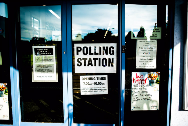 May polling station