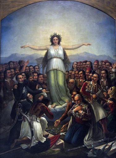 Grateful Hellas by Theodoros Vryzakis - headstuff.org