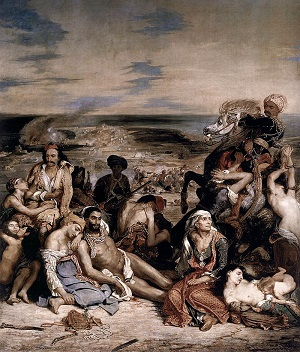The Massacre at Chios, by Eugene Delacroix - headstuff.org
