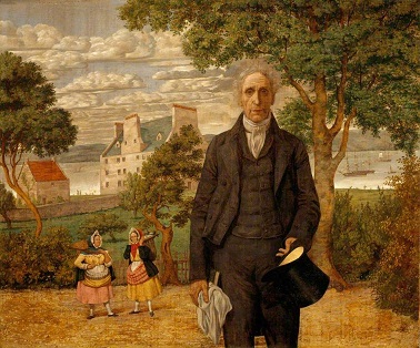 Richard Dadd's portrait of Sir Alexander Morison - headstuff.org