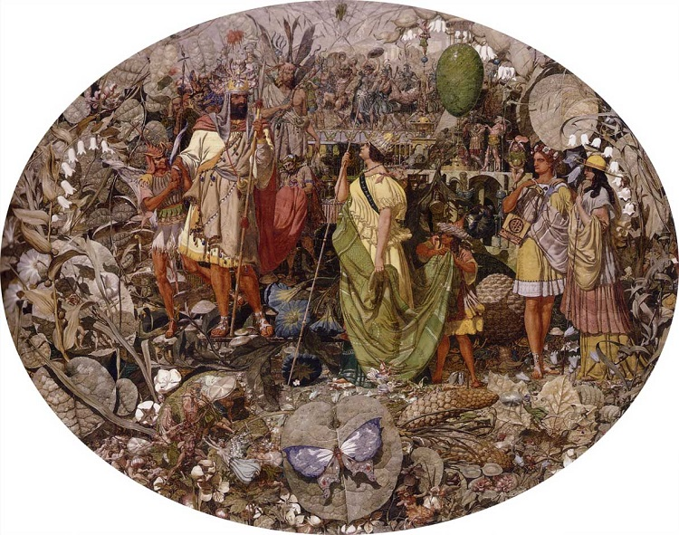 """Contradiction - Oberon and Titania"" by Richard Dadd - headstuff.org"