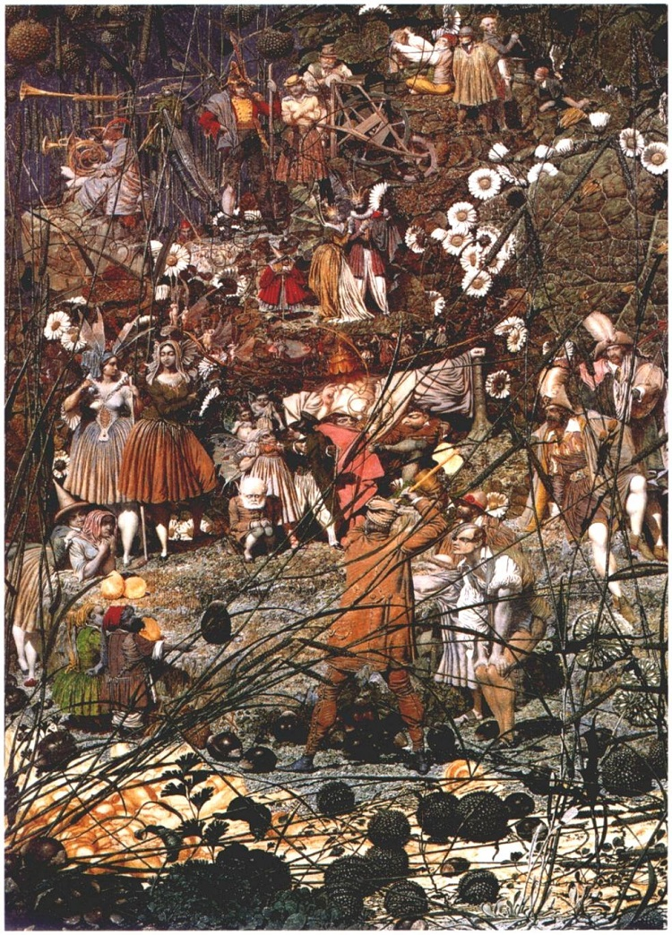 """The Fairy Feller's Master-Stroke"" by Richard Dadd - headstuff.org"