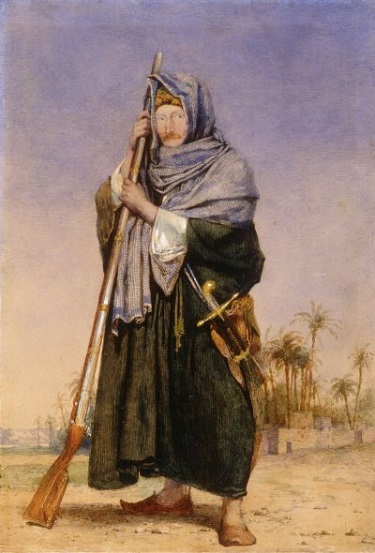 """Sir Thomas Phillips In Arab Dress"" by Richard Dadd - headstuff.org"