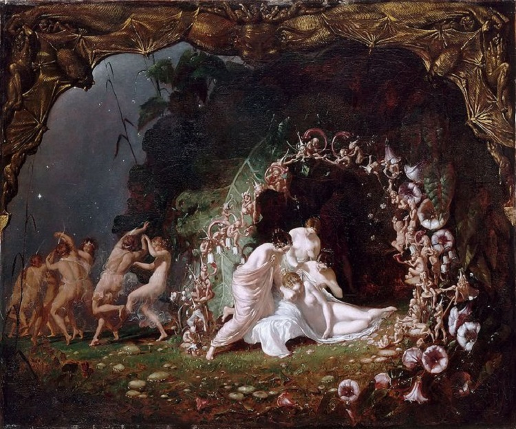 """Titania Sleeping"" by Richard Dadd - headstuff.org"