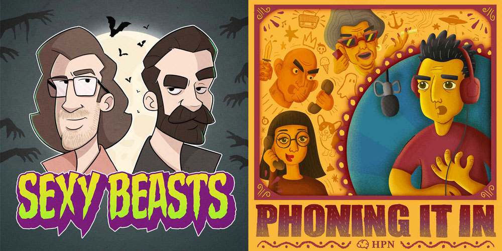 Sexy Beasts and Phoning it in at the Dublin Podcast Festival