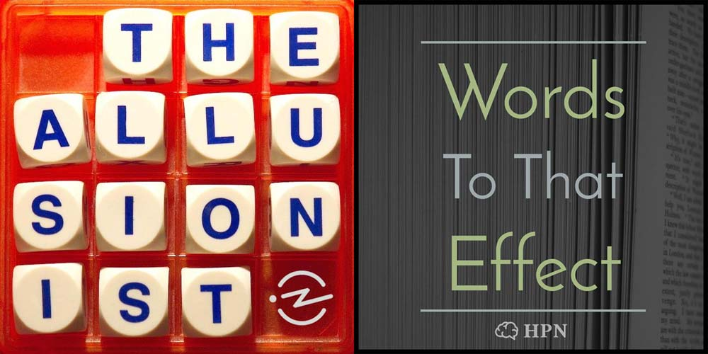 The Allusionist and Words to that Effect at the Dublin Podcast Festival