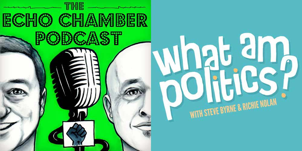 Echo Chamber Podcast and What am Politics at the Dublin Podcast Festival