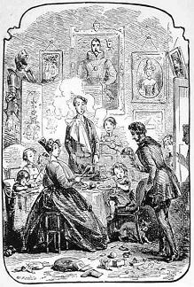 Illustration from Pelham by Edward Bulwer-Lytton - headstuff.org