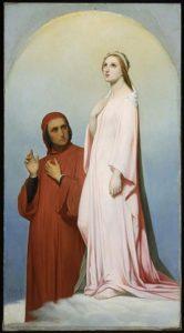 Dante Alighieri and Beatrice - headstuff.org