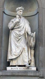 Statue of Dante Alighieri - headstuff.org