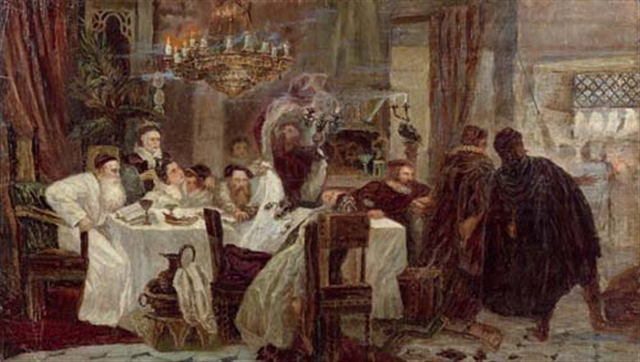 Secret Seder in Spain during the times of inquisition - headstuff.org